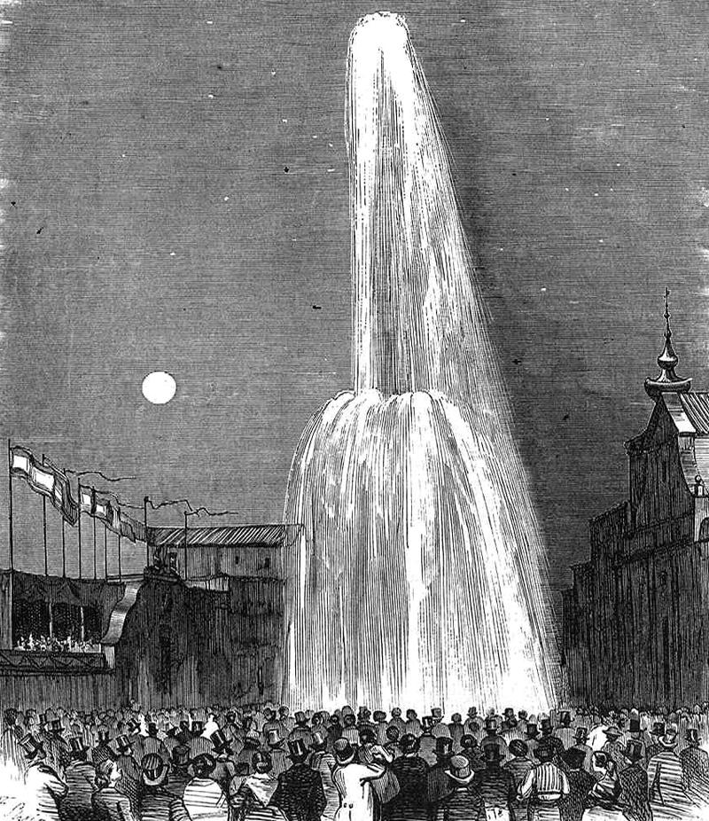 Inauguraciуn del Canal de Isabel II