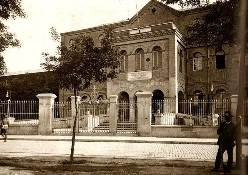 Hospital de la Princesa. Edificio central