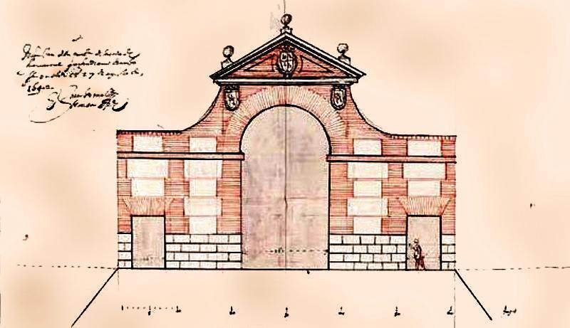 Proyecto de la puerta de Fuencarral