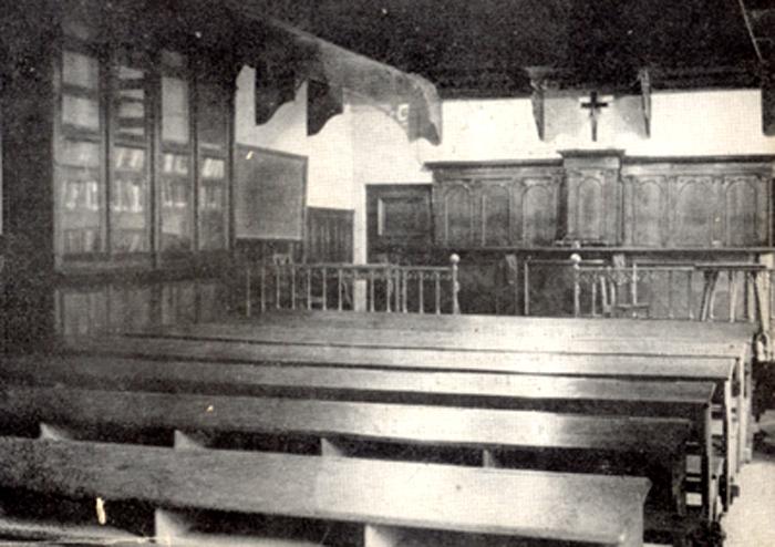 Aula de la antigua Universidad Central