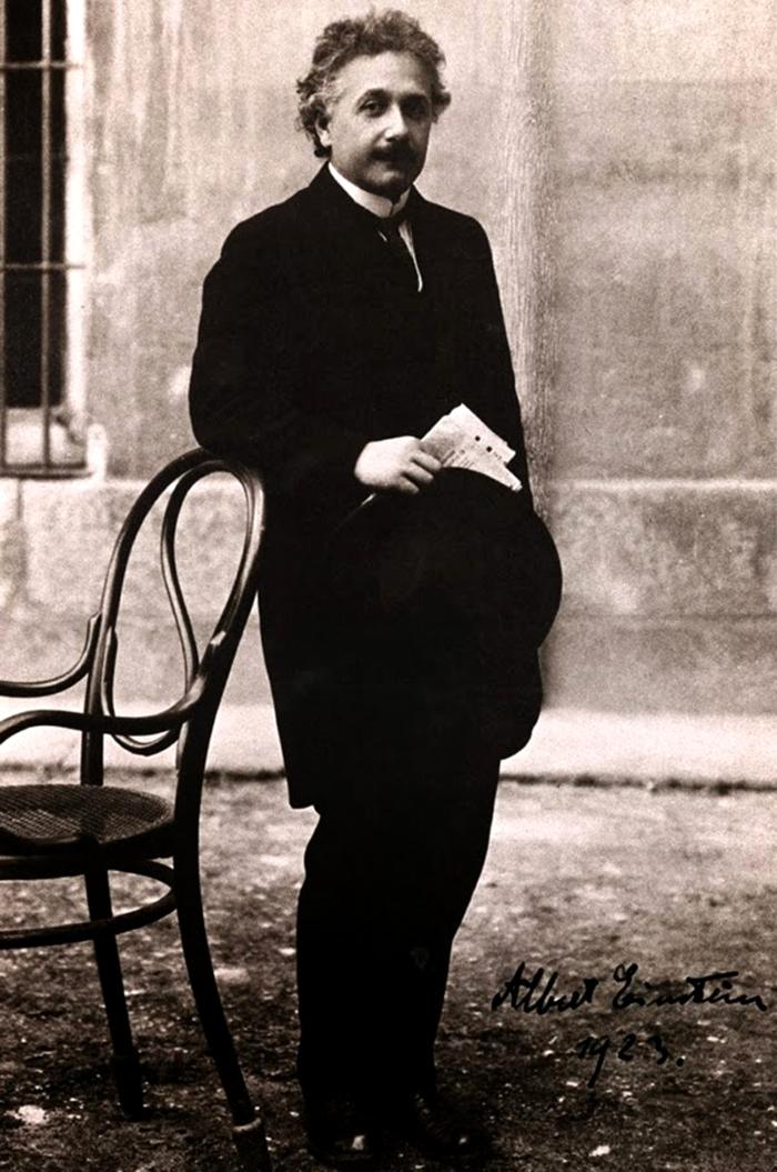 Albert Einstein en la Universidad Central