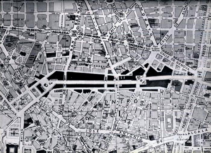 La Gran Vнa Diagonal plaza de Espaсa-Colуn
