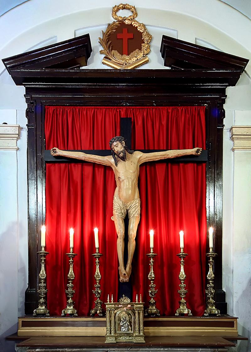 Cristo de la Muerte. Anуnimo