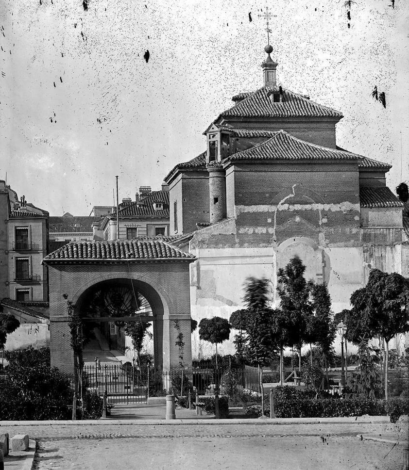Plaza del Dos de Mayo en 1890