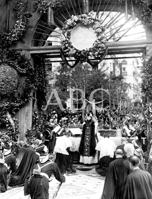 Misa del 2 de mayo em 1908
