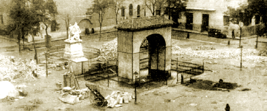 Plaza del Dos de Mayo en 1940