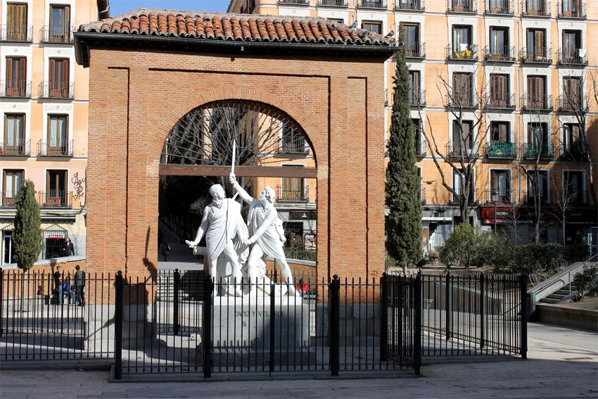 Plaza del Dos de Mayo en la actualidad