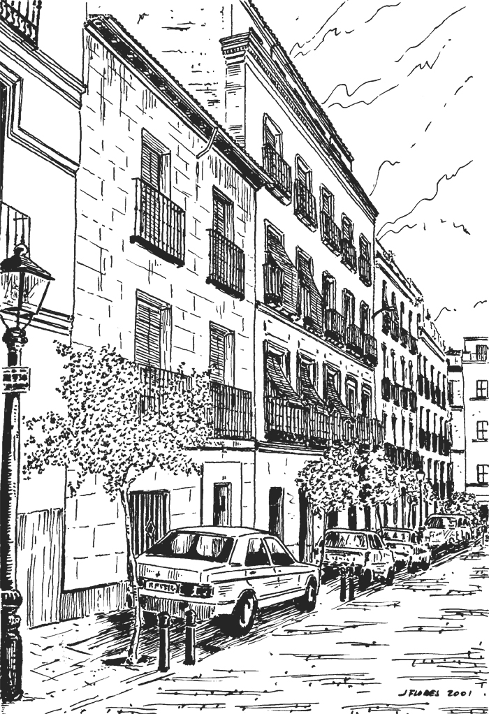 Calle de Santa Lucнa