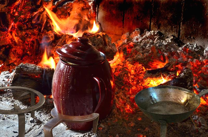 Fogn - Cocinar en la chimenea ...