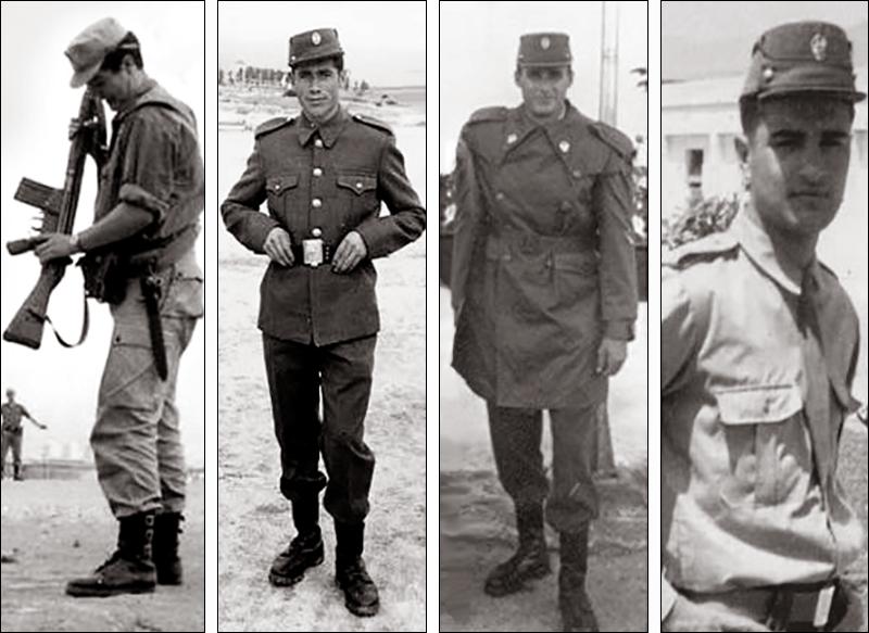 uniformes de recluta