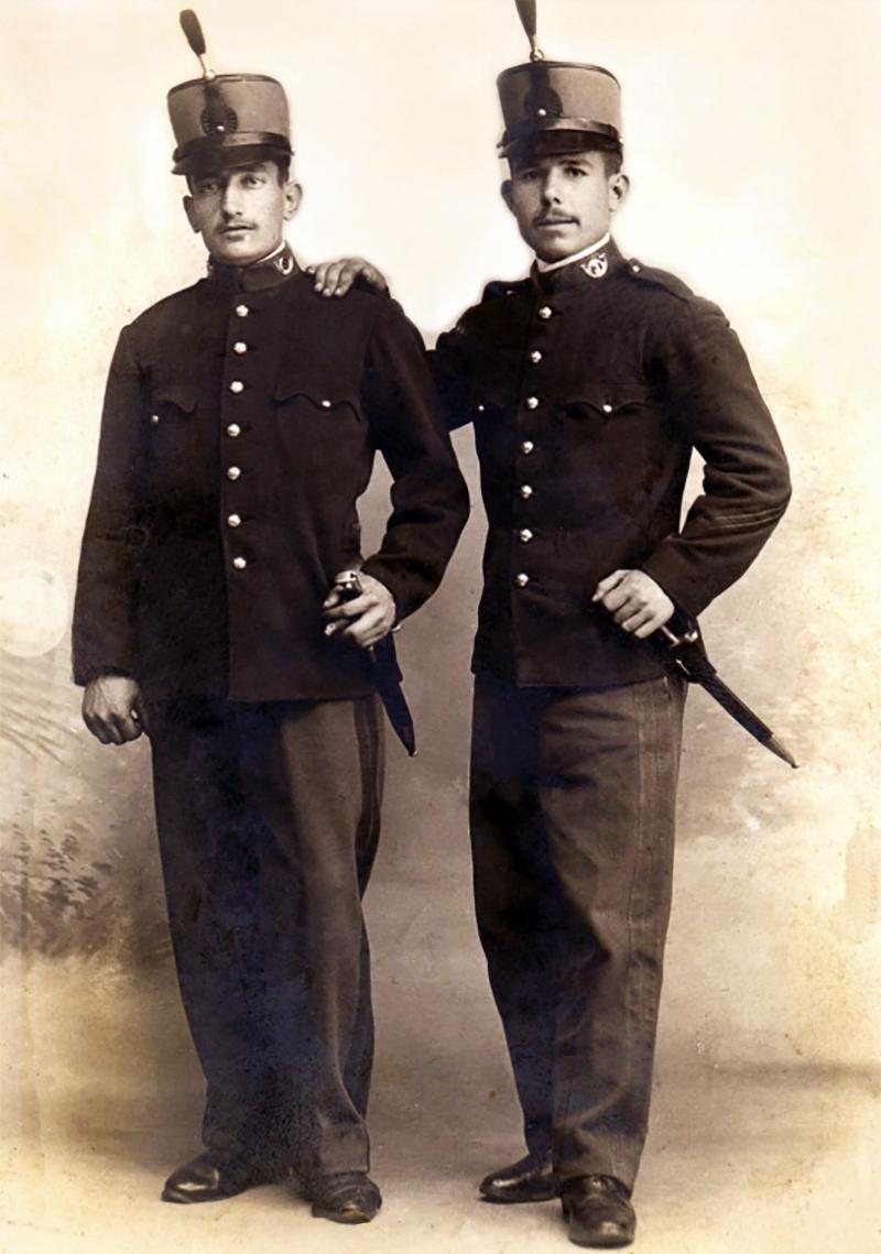 soldados finales de XIX