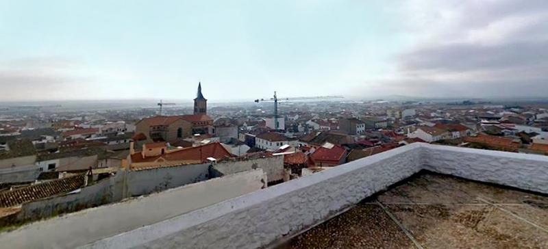 Panorama desde el Cerro de la Virgen de la Paz