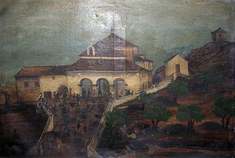 El Pozo de la Nieve en el cuadro de Francisco Pizarro Reillo