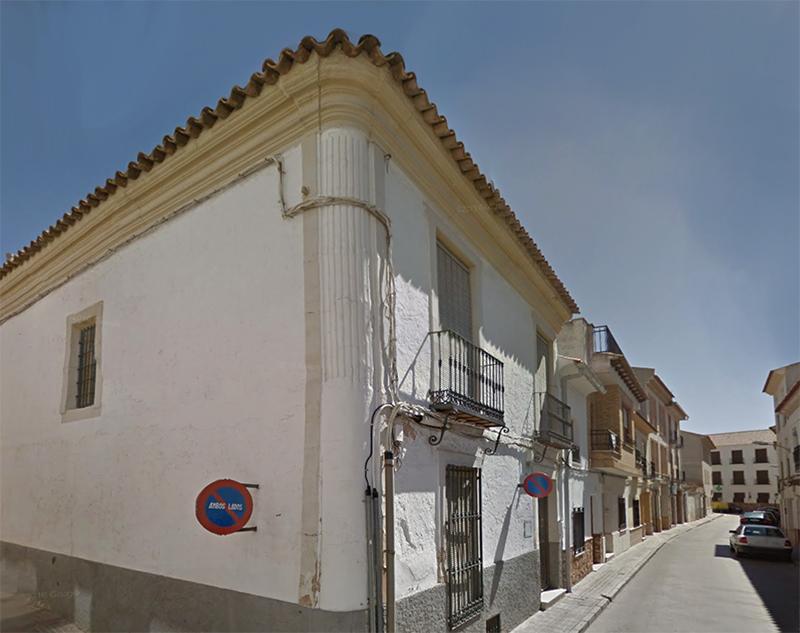 Calle Cardenal Monescillo esquina a Cervantes