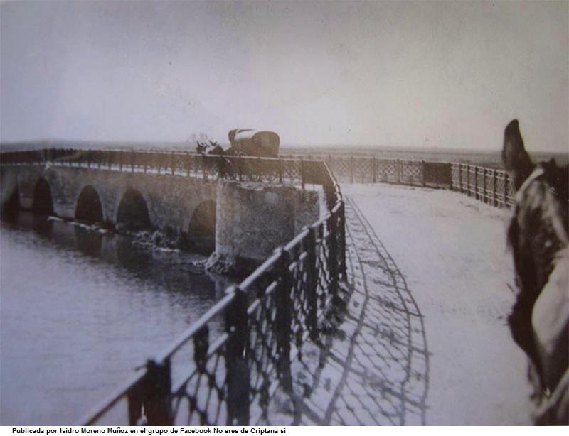 Puente de San Benito en el rнo Zбncara