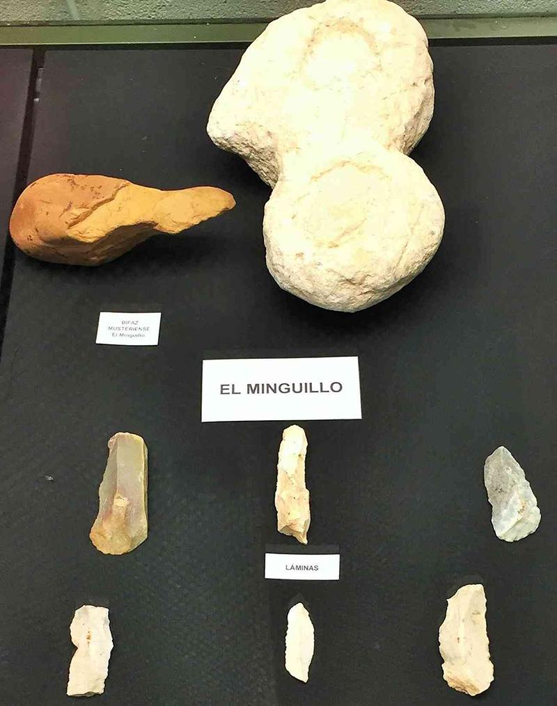Restos arqueolуgicos de El Minguillo