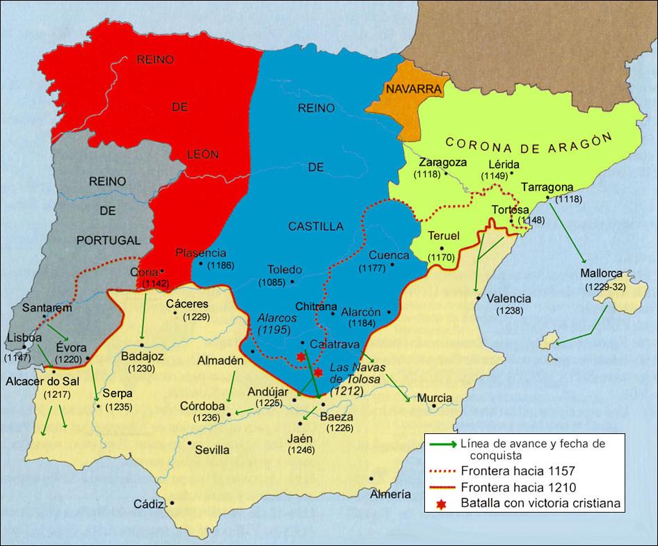 Reconquista 1157-1212