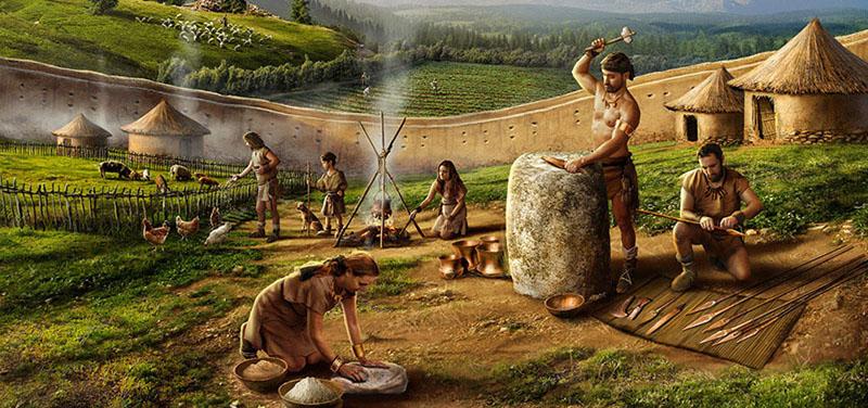 Asentamiento humano en la Edad del Bronce