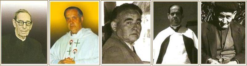Don Julio, don Santos, Valero, Casimiro y Francisco