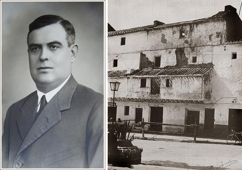 Mi abuelo Domingo Flores y la zona de los soportales