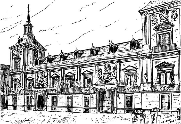 Casa de la Villa. 1644