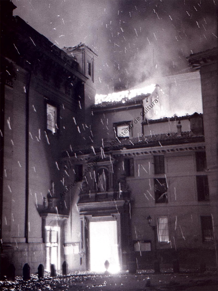incendio de San Andrés