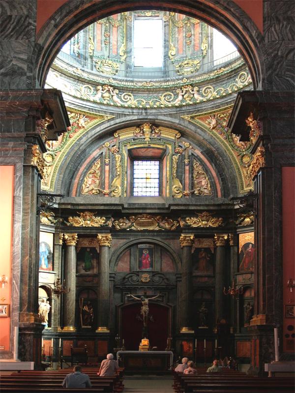 Interior de la capilla de San Isidro en la actualidad