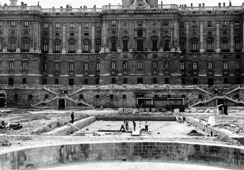 Construcción Jardines Sabatini