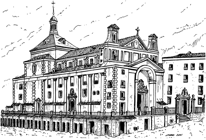 Desaparecido convento de San Felipe