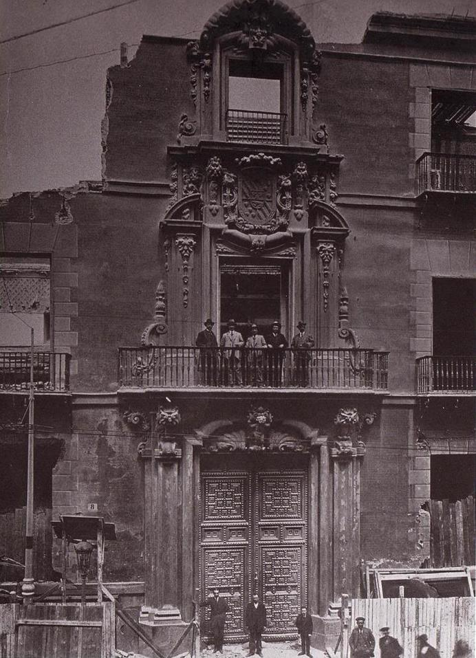 Desaparecido palacio de Oñate