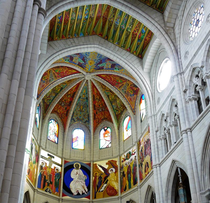 Catedral de la Almudena. Bóvedas
