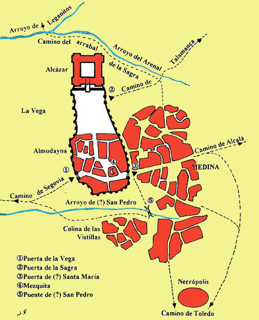 El Madrid árabe del siglo XI
