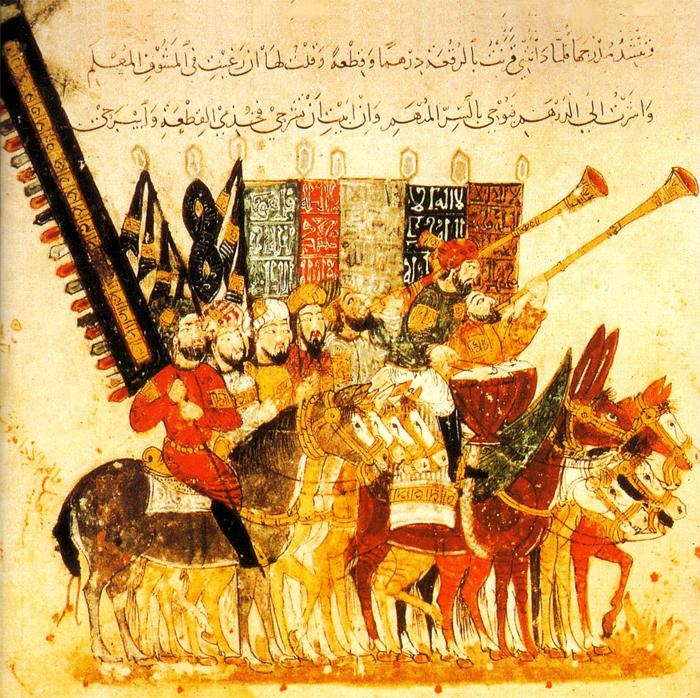 Guerreros árabes