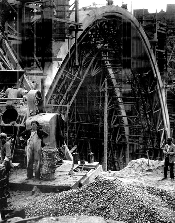 Obras del nuevo viaducto