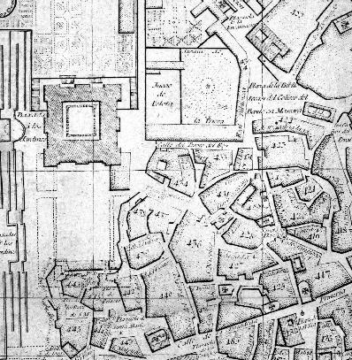Plano de Madrid de Tomás López. 1785