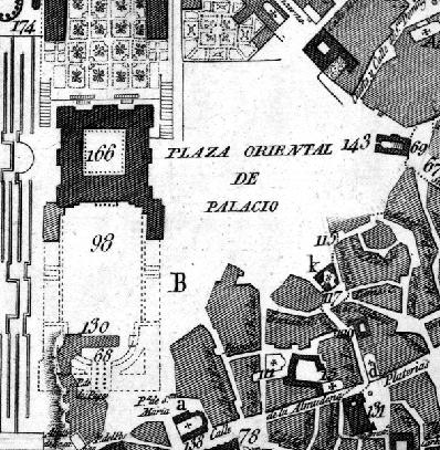 Plano de Madrid de Juan López. 1812