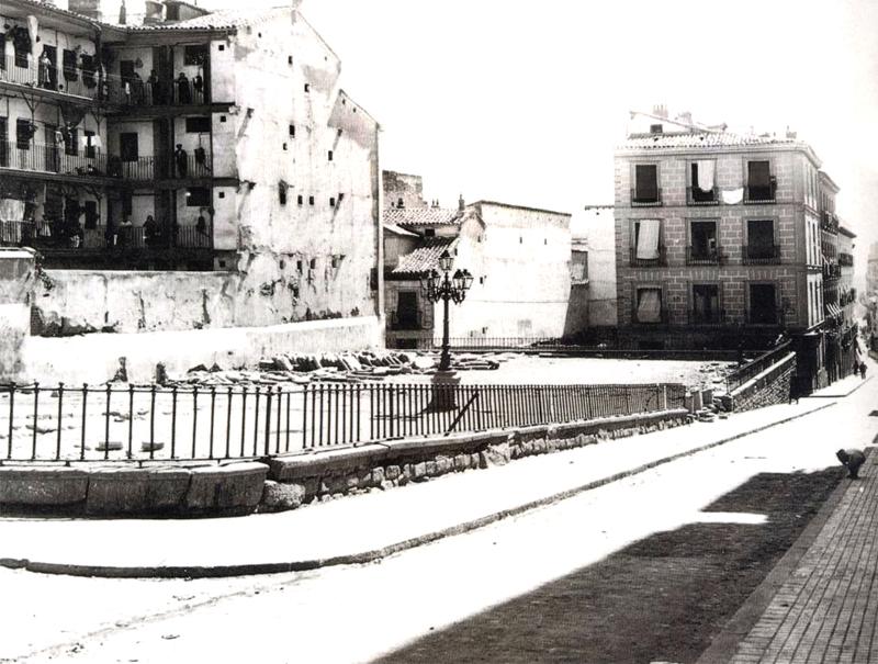La Corrala de Mesón de Paredes en 1934