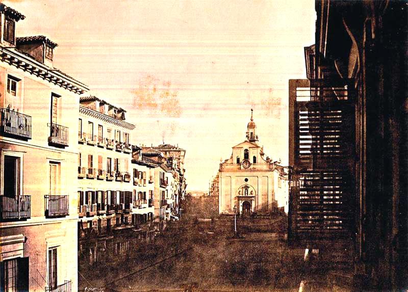 la Puerta del Sol en 1853