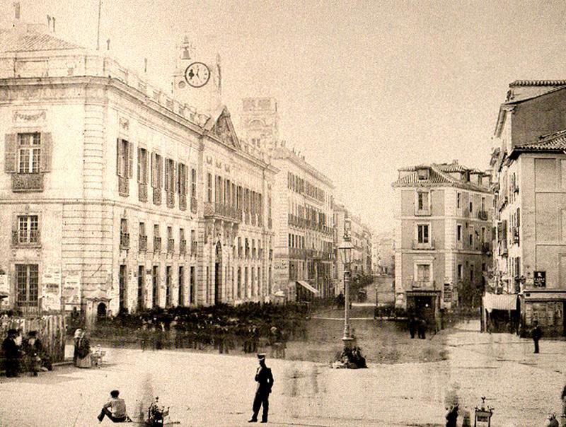 La Puerta del Sol en 1857