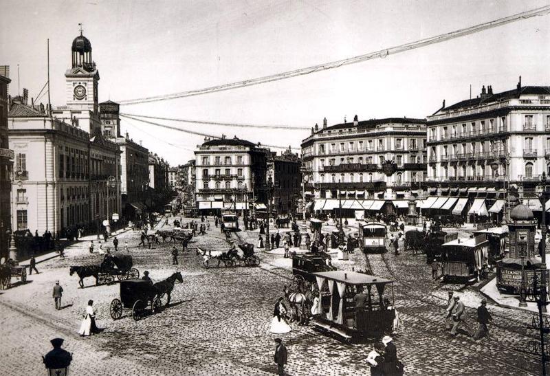 La Puerta del Sol en 1877