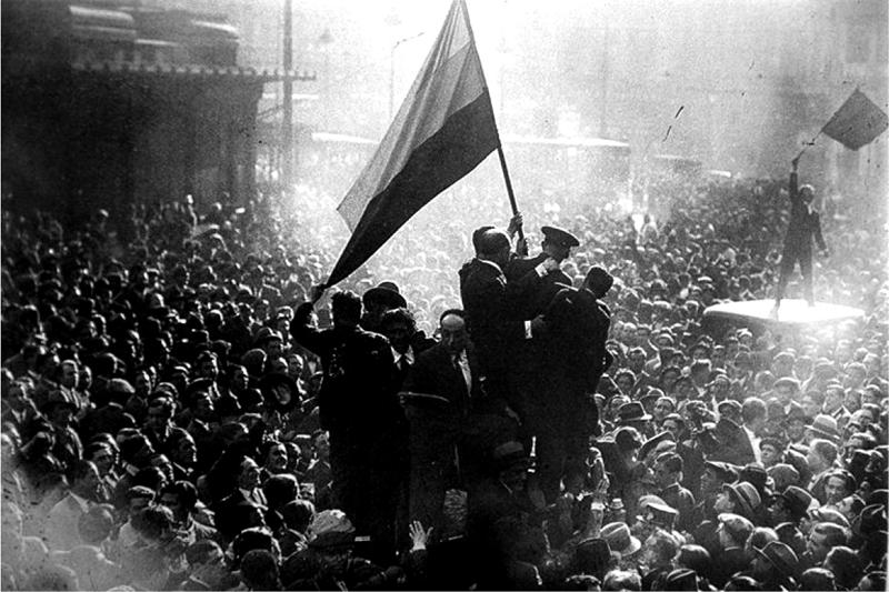 Proclamación de la República en 1931