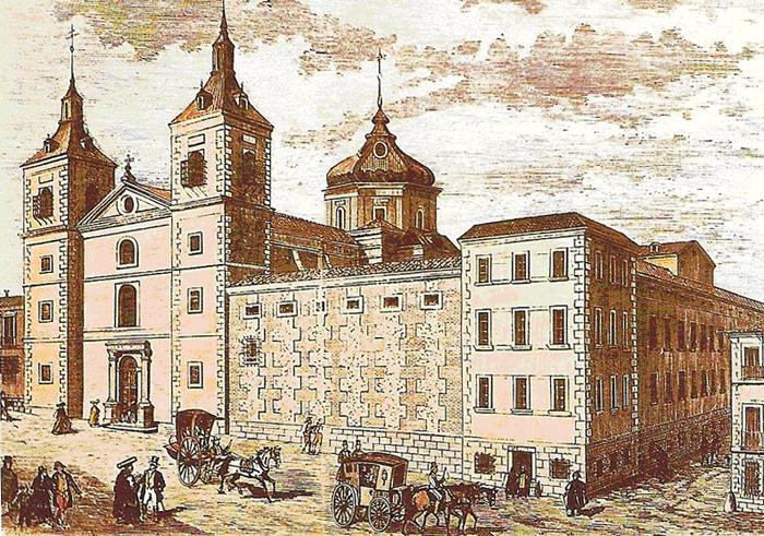 Convento del esp ritu santo for Calle prado de la iglesia guadarrama