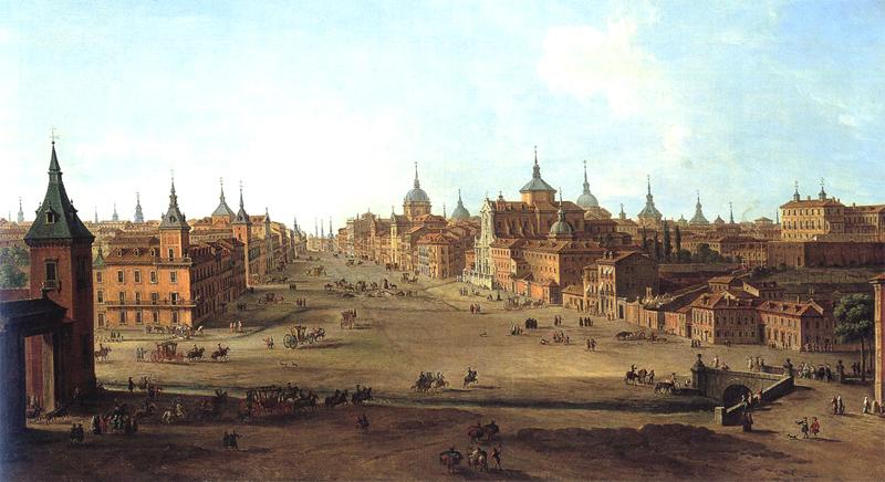 La calle de alcal en 1750 for Calle prado panetes 10 guadalix de la sierra