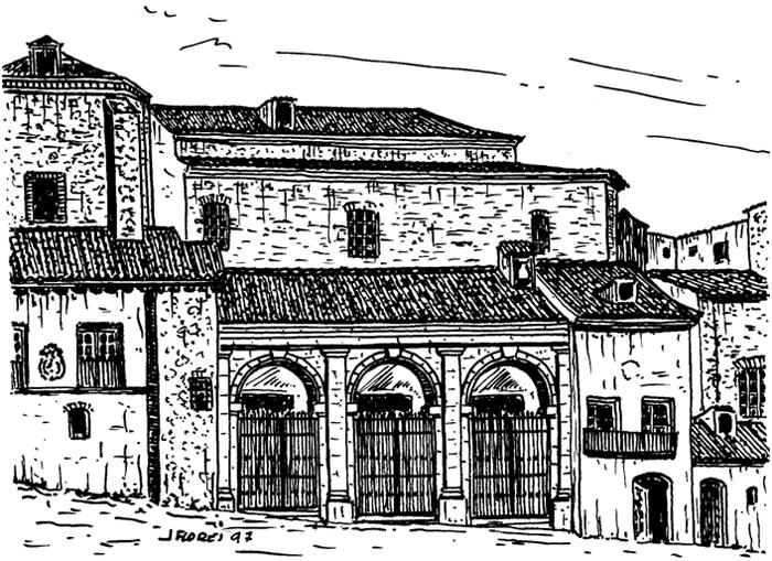 Desaparecido monasterio de Santo Domingo