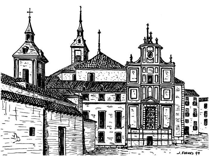 Desaparecido monasterio de San Martín