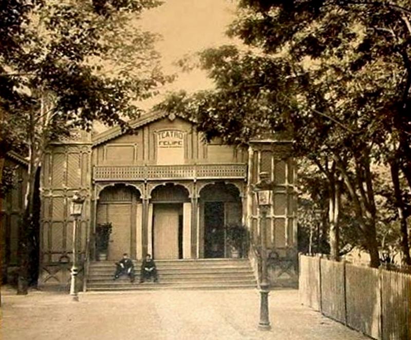 Teatro felipe for Calle jardin de la reina granada