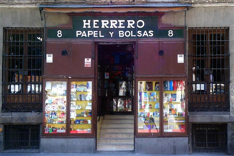 Papel y bolsas Herrero