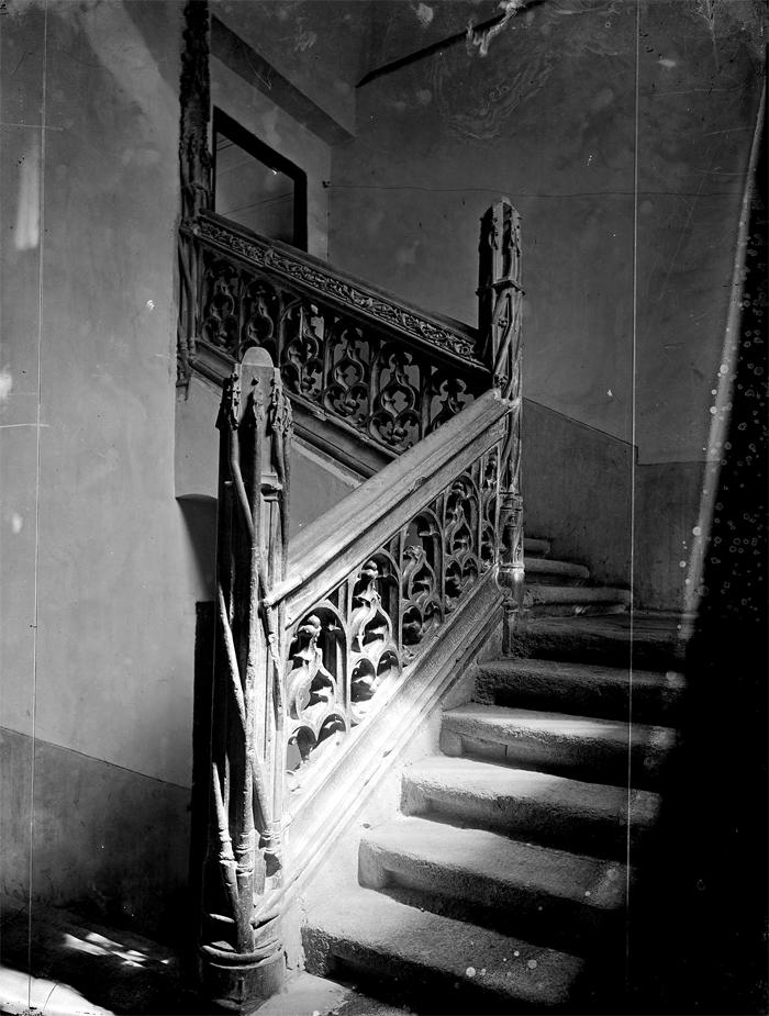 Escaleras del antiguo monasterio y hospital de La Latina
